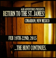 02/19/2015 - AGH ADVENTURES PRESENTS: RETURN TO THE ST. JAMES!