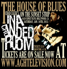"Chad Calek's IN A CROWDED ROOM ""Live"" at the HOUSE OF BLUES on the SUNSET STRIP!"