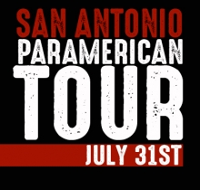 SAN ANTONIO, TX - JULY 31ST, 2016 - THE PARAMERICAN TOUR at the BLACK SWAN INN and tthe YORKTOWN HOSPITAL