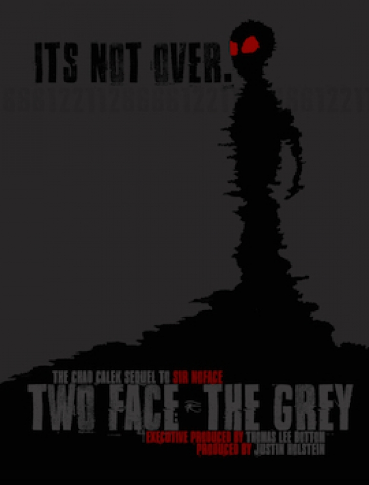 "AUTOGRAPHED ""TWO FACE: THE GREY"" OFFICIAL POSTER (2018)"